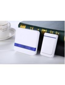 52 Melodies 300m Range Waterproof Wireless Doorbell Alarm Ring Doorbell US/ EU Plug