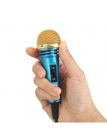 Condenser Microphone 3.5mm Jack Recording Mic for Video Chat Gaming Meeting MSN