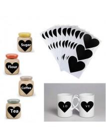 36Pcs Chalkboard Blackboard Chalkboard Stickers Craft Kitchen Jar Labels