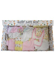 Girl 29 Piece Baby Starter Set Box