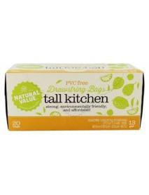 Natural Value Drawstring Tall Kitchen Bags (12x20 CT)