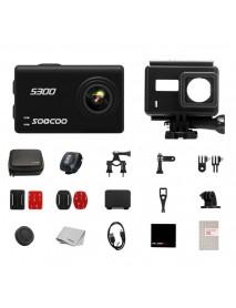 SOOCOO S300 Hi3559V100 IMX377 Sensor 2.35 Inch Touch LCD with WiFi Gryo Camera
