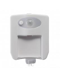 1W Motion-activated LED Toilet Night Light UV Sterilizer Aromatherapy Seat Lamp