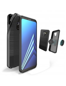 DUX DUCIS Magnetic Soft TPU Protective Case for Samsung Galaxy A8 Plus 2018