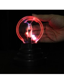 3 Inches USB Plasma Ball Sphere Lightning Light Magic Crystal Lamp Globe Laptop