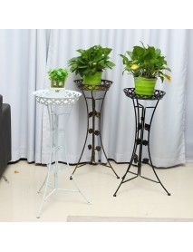 Metal Plant Stand Garden Decorations Flower Pot Shelves Outdoor Indoor Wedding Display