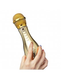 bluetooth Wireless Condenser Microphone USB Player Speaker for Karaoke