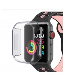 Bakeey Clear Soft TPU Shockproof Watch Cover For Apple Watch Series 4 40mm/44mm