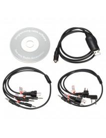 8 in 1 USB Programming Cable For Motorola Kenwood BAOFENG Radios & Mobile Radios