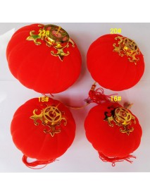 16 Pcs Chinese Red Lantern New Year Decoration Chinese Spring Festival Lanterns Decorations