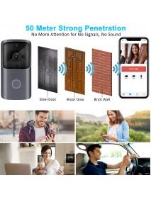 Bakeey M10 720P 166 Wide View Two-way Audio Smart WIFI Video Doorbell Smart Home PIR Alarm Monitor