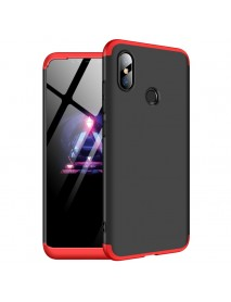 Bakeey 3 in 1 Double Dip 360 Hard PC Full Protective Case For Xiaomi Mi8 Mi 8 6.21 inch
