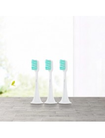 MIJIA 3pcs Premium Bristles Toothbrush Heads for Xiaomi Mi Home Sonic Electric Toothbrush from Xiaomi Youpin