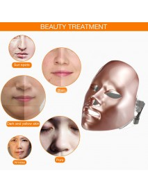 7Colors LED Facial Beauty Mask Light Therapy Skin Rejuvenation Facial Anti-aging Beauty Machine
