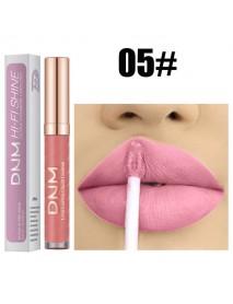 12 Colors Threaded Tube Lip Gloss Matte Liquid Lipstick Makeup Long-Lasting