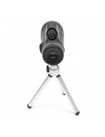 40X Optical Monocular Telescope HD Zoom Camera Clip Lens Tripod for Mobile Phone Travel