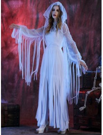 Halloween Costume Bride Ghost Corpse Vampire Cosplay Party Dress