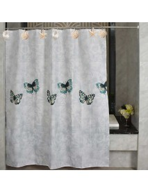 12Pcs/Box Stainless Steel Resin Bathroom Curtain Hook White Brown Starfish Shell Conch Mixed Pattern