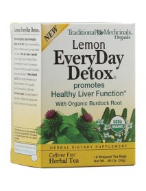Traditional Medicinals Everyday Organic Lemon Detox (6x16 Bag)