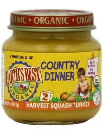 Earth's Best Harvest Squash Turkey Dinner (12x4 Oz)
