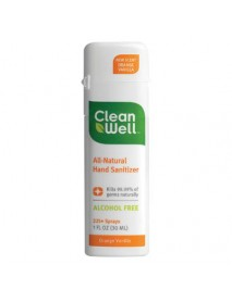 Cleanwell Orange Vanilla Hand Sanitizer (24x1 Oz)