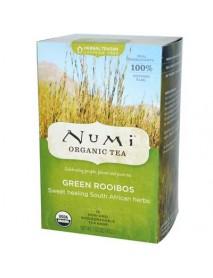 Numi Tea Green Roobios Herbal Tea (6x18 Bag)