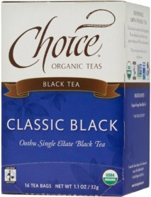 Choice Organic Teas Classic Black (6x16 Bag)