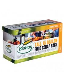 Biobag Tall Food Scrap Bags (12x12 CT)