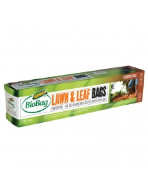 Biobag 33 Gallon Lawn and Leaf Bag (12/5 count)