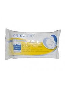 Natracare Organic Cotton Baby Wipes (1x50 ct)