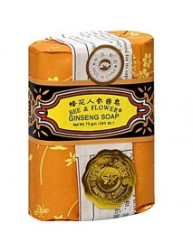 Bee & Flower Soaps Ginseng Soap (12x2.65OZ )