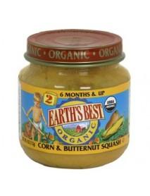 Earth's Best Baby Foods Baby Crn/Bnt Sqsh (12x4OZ )