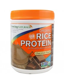 Growing Naturals Rice Pro Chocolate Rw (1x16.8OZ )