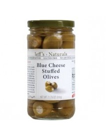 Jeff's Naturals Blue Cheese Stfd Olvs (6x11.75OZ )