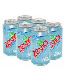 Zevia Cola Soda Caff Fre (4x6Pack )