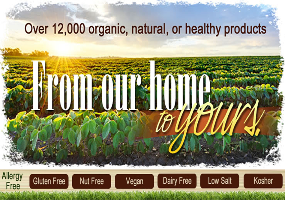 Organic Products; Eco-Friendly Healthy Foods, Beauty Products & Baking Supplies