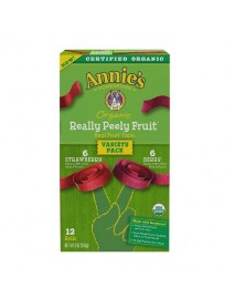 Annie's Homegrown Organic Really Peely Fruit Tape Variety Pack (6x9 OZ)
