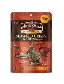 Annie Chun's Roasted Seaweed Crisps Gochujang (10x1.27 OZ)