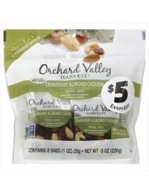 Orchard Valley Harvest Cranberry Almond Cashew (8X8 OZ)