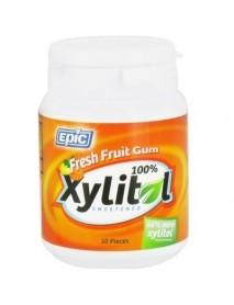 Epic Dental Xylitol Fresh Fruit Gum (1x50 Ct)