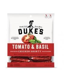 Duke's Shorty Smoked Chicken Sausages Tomato & Basil (8x4 OZ)
