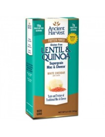 Ancient Harvest Quinoa Supergrain Mac & Cheese White Cheddar (12x6.5 OZ)