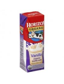Horizon Organic Lowfat Vanilla Milk (1x12 PACK)