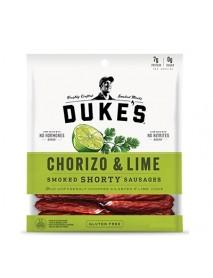 Duke's Smoked Shorty Sausages Chorizo and Lime (8x5 OZ)
