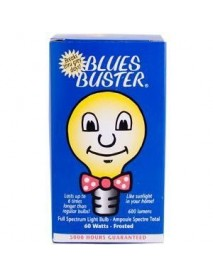 Blues Buster Full Spectrum Light Bulb Frosted 60 Watt (1x1 EACH)