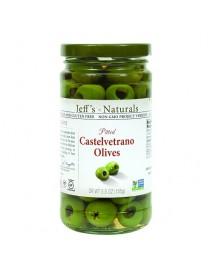 Jeff's Naturals Castelvetrano Olives (6x5.5 OZ)