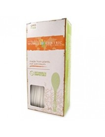 World Centric Corn Starch Spoon 24 Piece (12x24 Ct)