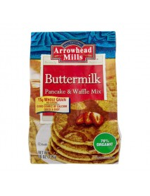 Arrowhead Mills Organic Buttermilk Pancake & Waffle Mix  (6x26 OZ)