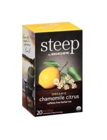 Bigelow Tea Steep Organic Chamomile Citrus (6x20 BAG )