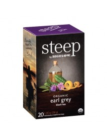 Bigelow Steep Organic Earl Grey Black Tea (6x20 BAG )